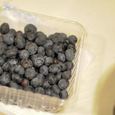 Blueberry Streusel Coffee Cake in a Jar