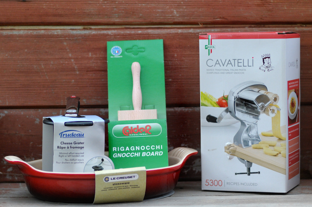 Baked Gnocchi with Two Cheeses and Walnuts [Bertolli Giveaway ...