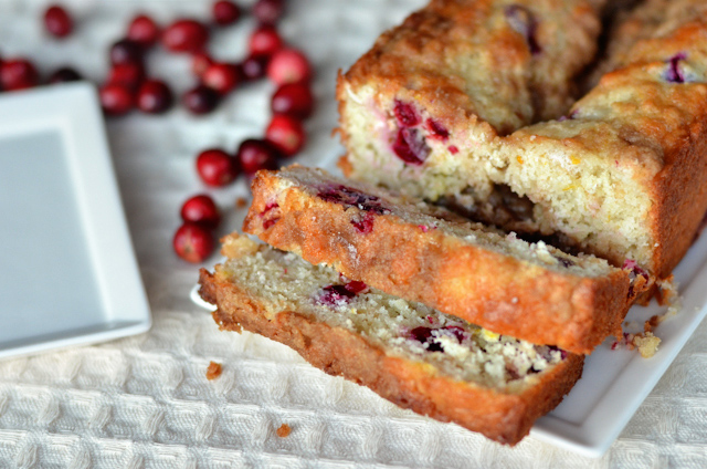 Cranberry Orange Coffee Cake Loaf | Heather's Dish