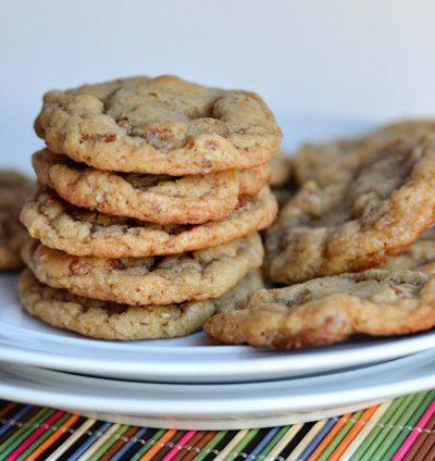 Buttery Brown Sugar Pecan Cookies