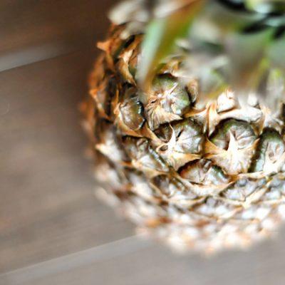 Fresh Pineapple Crisp