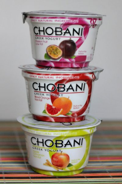 Chobani Review + Giveaway