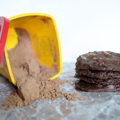Chewy Chocolate Pecan Cookies