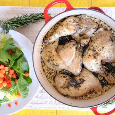 Chicken & Rice to Celebrate Dad!