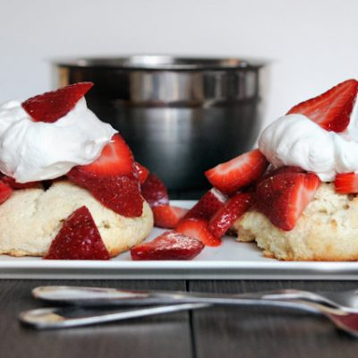 Strawberry Shortcake for Two