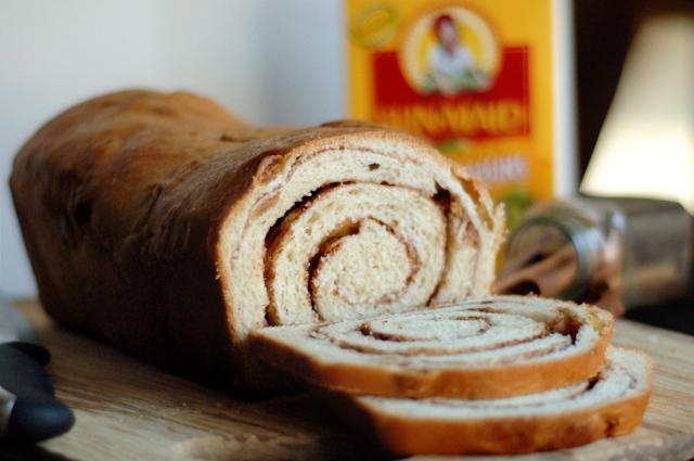 31 Best Raisin Bread Images On Pinterest: Golden Raisin Cinnamon Swirl Bread