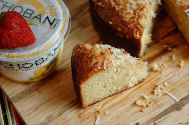 greek yogurt cake pineapple coconut yogurt cake 4606
