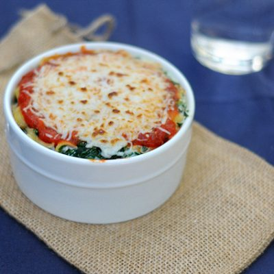 10-Minute Creamy Ricotta Spinach & Shells