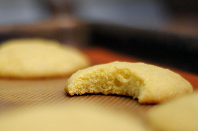 Lemon Olive Oil Cornmeal Cookies | Heather's Dish