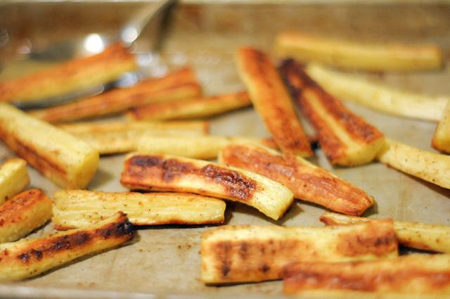Cinnamon Citrus Roasted Parsnips | Heather's Dish