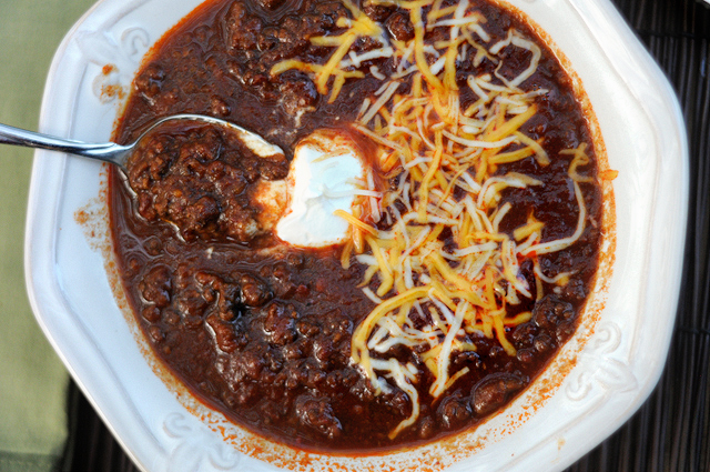... Chili Recipes Chili Recipe Crock Pot Easy Beef with Beans Vegetarian