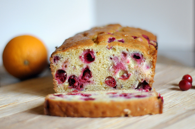 Cranberry Tangerine Breakfast Loaf from @HeathersDish