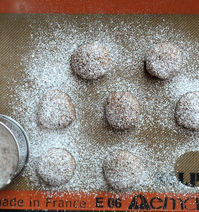Rich & Chewy Chocolate Almond Cookies