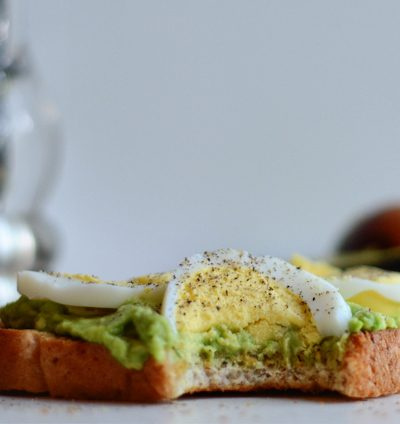 3-Minute Avocado Toast with Hard-Boiled Eggs