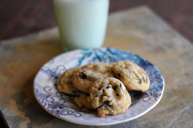 Small Batch Chocolate Chip Cookies Without Brown Sugar