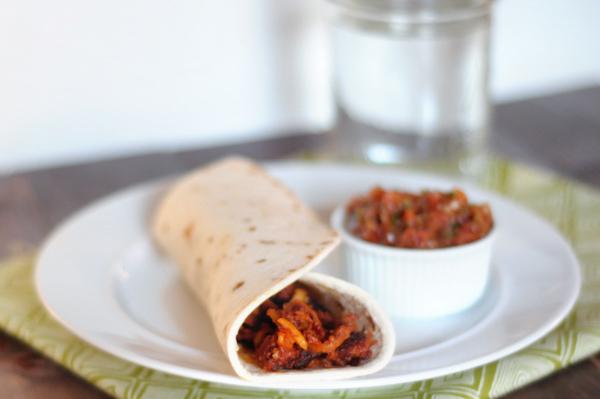 Breakfast Burrito With Chorizo, Potato, And Egg Recipe — Dishmaps