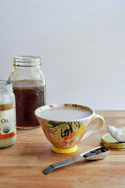How to Make a Coconut Oil Latte