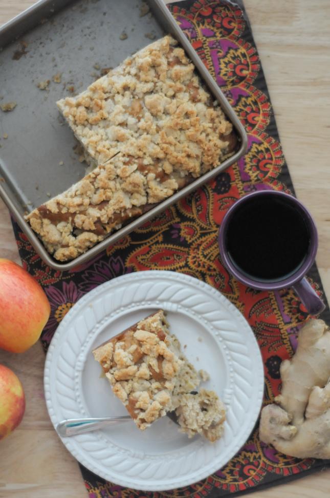 Triple Ginger Apple Streusel Coffee Cake from @kitchenaidUSA and @heathersdish #KitchenAidContest #sponsored